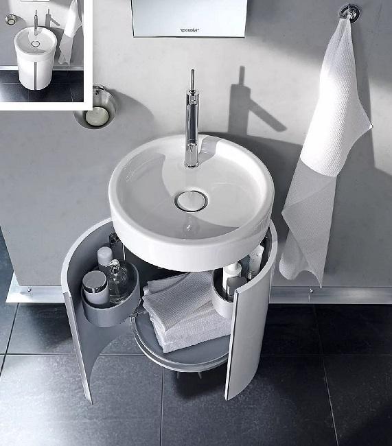 Мебель для ванной – необычные решения