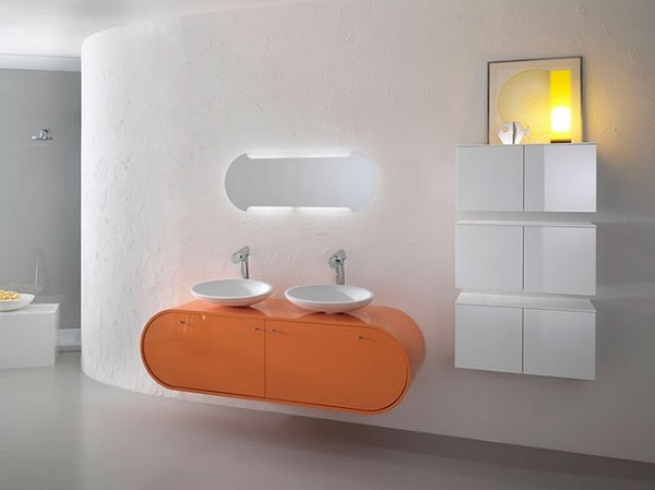 Muebles de baño: soluciones inusuales