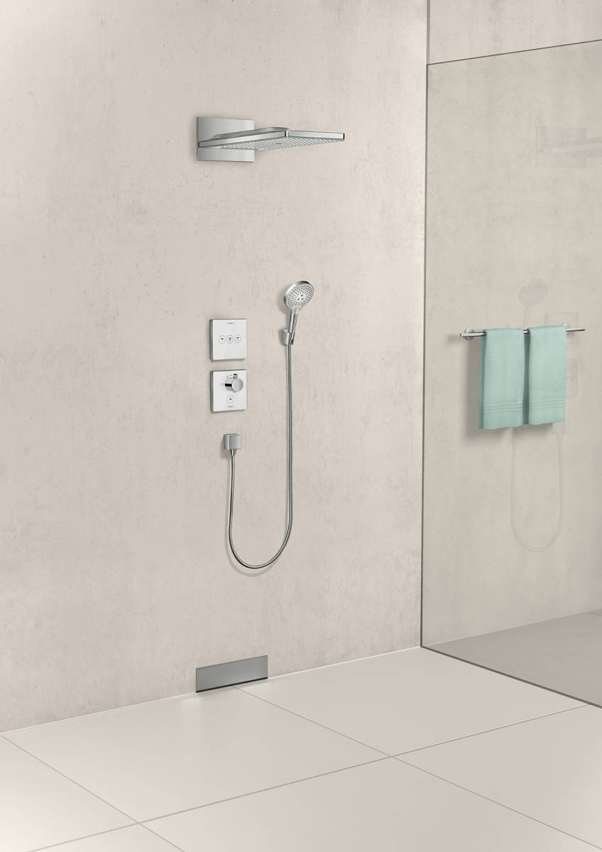 Верхний душ Hansgrohe Rainmaker Select 580 3jet 24001600 черный/хром