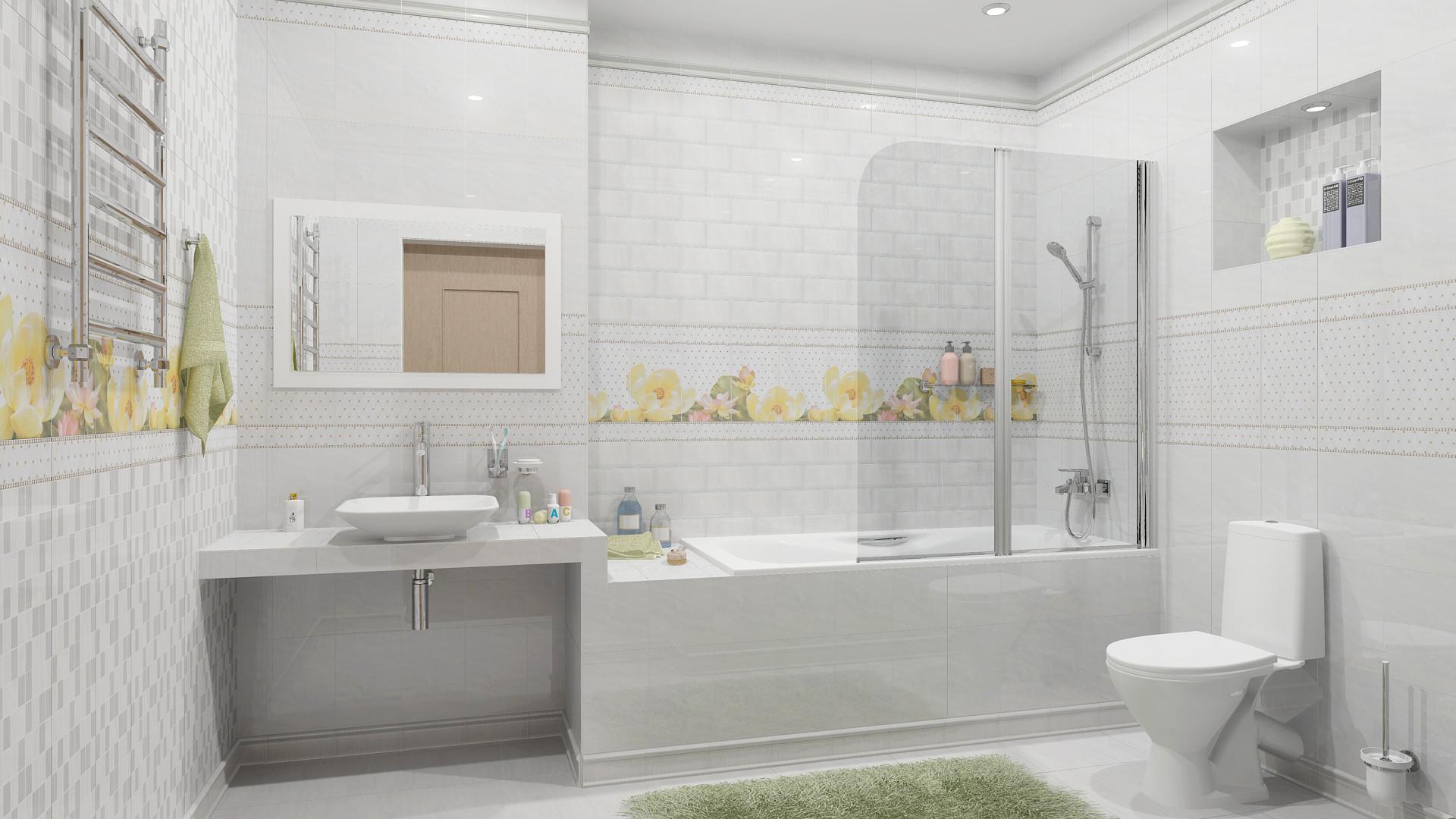 Почему порядок в светлой ванной комнате поддерживать легче, чем в темной