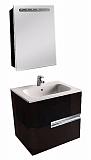 Мебель для ванной Roca Victoria Nord Black Edition 60 см 2 ящика, черный (снято с производства)