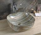 Раковина CeramaLux Stone Edition Mnc543 42.5 см коричневый ( снято с производства)