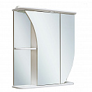 Зеркальный шкаф Руно Белла 65 R белый (снято с производства)