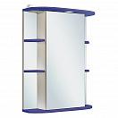 Зеркальный шкаф Руно Гиро 55 R синий (снято с производства)