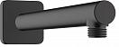 Кронштейн для душа Hansgrohe Vernis Shape 26405670 черный матовый