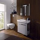 Мебель для ванной Geberit Renova Compact 59 см белый глянец