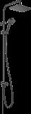Душевая стойка Hansgrohe Vernis Shape 230 1jet Reno 26282670 черный матовый