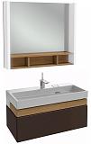 Мебель для ванной Jacob Delafon Terrace 80 см ледяной коричневый