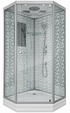 Душевая кабина Niagara Lux 7701DW 90x90, серебро