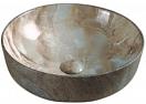 Раковина CeramaLux Stone Edition Mnc499 41.5 см коричневый