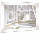 Зеркало Relisan Linda 80x60 см, с подсветкой
