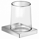 Стакан подвесной Keuco Edition 11 11150019000 стекло/хром