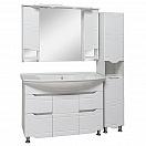 Мебель для ванной Руно Стиль 105 белый