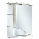 Зеркальный шкаф Руно Римма 60 R белый