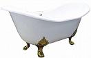 Чугунная ванна Elegansa Taiss gold 180x80 см