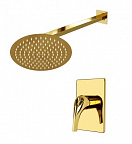 Душевой набор WasserKRAFT Sauer A71183 золото