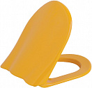 Крышка-сиденье Creavit Ducky KC1003.01.1200E с микролифтом желтый
