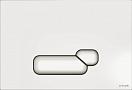 Кнопка смыва Cersanit Actis BU-ACT/Whg/Gl белый глянец