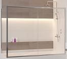Шторка для ванны RGW Screens SC-92 170x70 хром, прозрачная