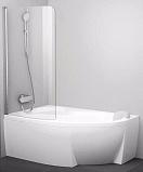 Шторка для ванны Ravak Chrome CVSK1 Rosa 160/170 L