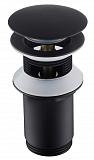 Донный клапан Timo 8011/03 универсальный, черный матовый