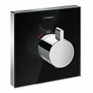 Смеситель для душа Hansgrohe ShowerSelect 15734600 термостат внешняя часть черный/хром