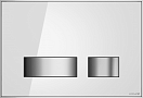 Кнопка смыва Cersanit Movi BU-MOV/Whg/Gl белый глянец