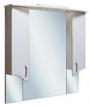 Зеркальный шкаф Руно Севилья 105 белый