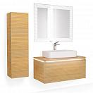Мебель для ванной Jorno Karat 100 см, бук