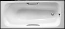Чугунная ванна Jacob Delafon Melanie 160x70 с отверстиями под ручки