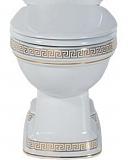 Чаша для унитаза Creavit Klasik KL310-00CB00E-WA00 Vercaci золото, с функцией биде