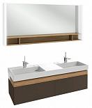 Мебель для ванной Jacob Delafon Terrace 150 см ледяной коричневый