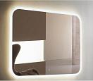 Зеркало Relisan Jasmin 90x70 см, с многофункциональной панелью