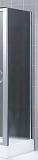 Боковая перегородка RGW Z-12 100x185 хром, матовое