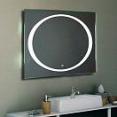 Зеркало Relisan Gella 100x80 см, с подсветкой