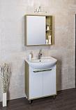 Мебель для ванной Руно Эко 60 светлое дерево