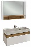 Мебель для ванной Jacob Delafon Terrace 100 см белый бриллиант