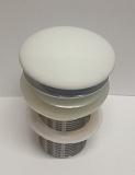 Донный клапан Ceramalux RD002 без перелива, белый