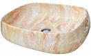 Раковина CeramaLux Stone Edition Mnc185 56 см оранжевый