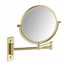 Зеркало косметическое Timo Selene 17076/17 золото матовое