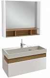 Мебель для ванной Jacob Delafon Terrace 80 см белый бриллиант