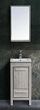 Мебель для ванной Black&White Country SK-040 40 см дуб серебристый