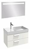 Мебель для ванной Jacob Delafon Rythmik 100 см, 2 ящика белый