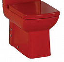 Чаша для унитаза Creavit Lara LR360-11KI00E-0000 красный