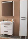 Мебель для ванной Dreja Alda 65 см, 2 ящика, белый глянец