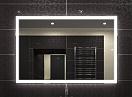 Зеркало Relisan Ivanka 100x70 см, с подсветкой