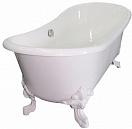 Чугунная ванна Elegansa Nadia white 180x80 см