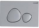 Кнопка смыва Creavit Spa GP7002.00 серый матовый