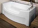 Акриловая ванна Радомир Чарли 120х69 (без смесителя и полотенцедержателя)