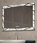 Зеркало Vigo Melissa Media GREY 100 см